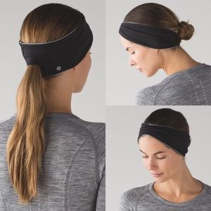 Lululemon Run With Me Ear Warmer II Headband